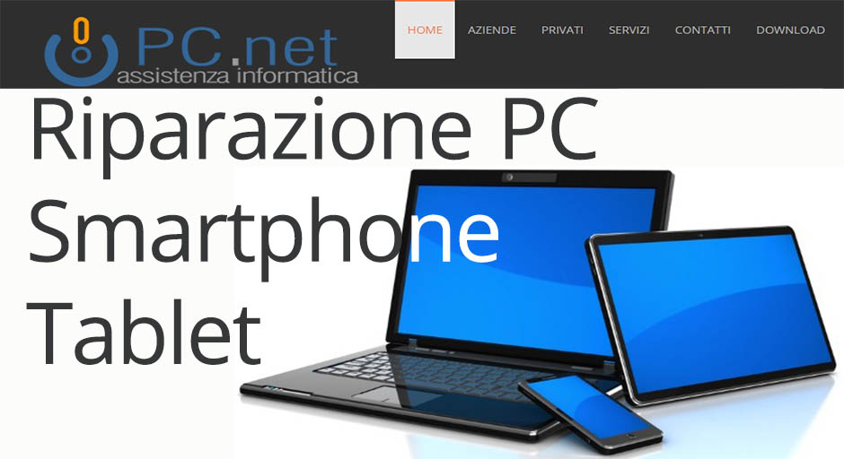 Riparazione e assistenza PC Smartphone Tablet PC.net